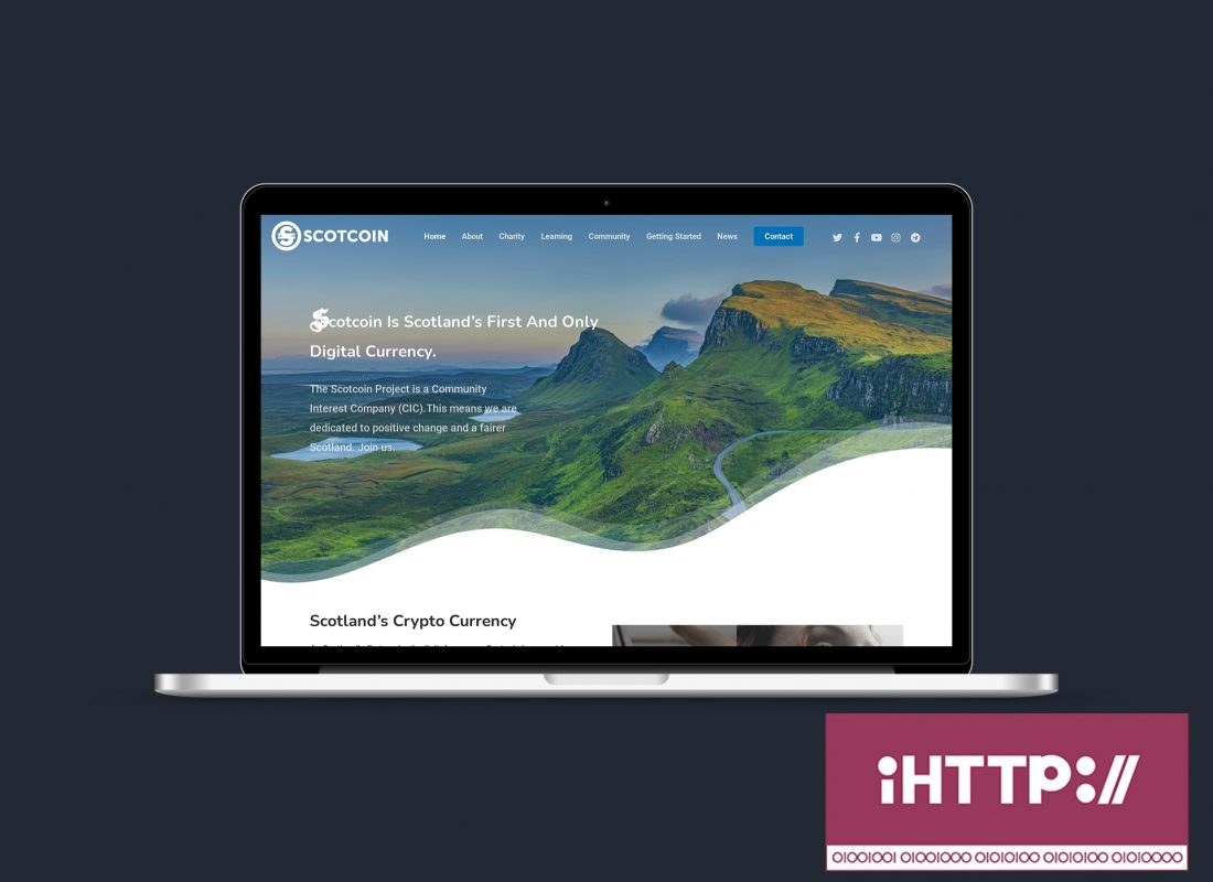Scotcoin Macbook Launch